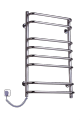 Electric heated towel rail Standard 8 stainless steel