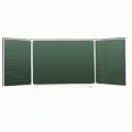 Доска школьная магнитная пяти поверхностная (3000 х 1000 мм.)