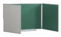 Доска школьная магнитная пяти поверхностная (4000 х 1000 мм.)