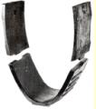 Элементы фановой трубы с базальтовым желобом овального профиля