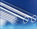 Трубы из прозрачного кварцевого стекла