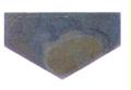 Плитка из плавленного базальта,  Hex 1/2A