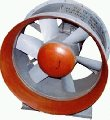 The fan axial BO-19-2O9 for system of ventilation and air heating of production, public and residential buildings