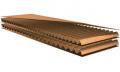 Five-layer corrugated cardboard