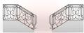 Кованые лестницы под заказ в Житомире и доставкой по Украине, кованные изделия для сада и домашнего интерьера