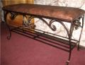 Кованая мебель для дома с художественным подходом с Житомира, дизайнерская кованая мебель для дома и сада.