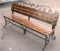 Кованая мебель уличная, скамейки кованые для сада, фонари с художественной ковкой с Житомира, Украина