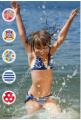 Купальники дитячі нової колекції від ТМ Anabel Arto оптом, одяг пляжний для хлопчиків і дівчинок в асортиментах, купальники цільні й    роздільні для дівчинок, Україна