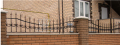 Огородження куті, забори й хвіртки куті, огородження на вікна захисні ковані від виробника в Житомирі