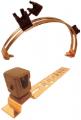 Проводники, соединения и держатели для систем заземления и молниезащиты