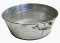 Тазы оцинкованные емкостью 13 и 21 л, широко используются для стирки, купания, хранения и переноски жидкостей и других продуктов.