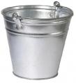 Ведра оцинкованные емкостью 5, 7, 10, 12 и 15литров для хранения и переноски жидких, сыпучих пищевых и непищевых продуктов