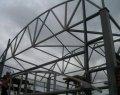 Несущие металлоконструкции каркасного здания