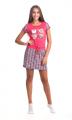 Платье женское домашнее модель: 02303 ПВ