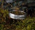 Кольцо Hammered ring ArHr08