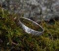 Кольцо Hammered ring ArHr05