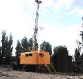 Установка колонкового бурения УКБ-5С самоходная для бурения вертикальных и наклонных (до70°) скважин изготавливается на шасси автомобиля высокой проходимости КрАЗ, КАМАЗ, МАЗ
