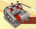 Лебедка шахтная скреперная модели 1ЛШС