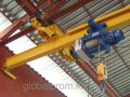 Кран-балка электрические подвесной однобалочный двухпролетный 1 т