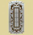 Дверные витражи ДВ6