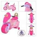 Аккумуляторный мотоцикл Принцессы INJUSA 6878