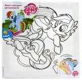 Холст Холст с контуром Kite LP15-217K Little Pony (LP15-217K x 69180)