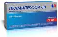 Прамипексол - ЗН, табл. по 1мг № 10х3