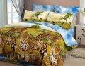 Комплект постельного белья Леопарды