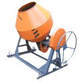 Бетономешалка гравитационная БС-500 (редукторная)