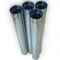 Труба дымоходная одностенная для дымохода ф 160 , 1м\п
