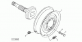 Диск AH170138 колеса 600/65R28, комбайн JD9880