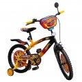 """Велосипед 2-х колес диаметр 18""""  131809 """"Hot Wheel""""  со звонком,зеркалом,вставками"""