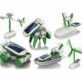 Робот конструктор на солнечной батарее 6в1