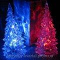 Мини светильник Елочка Кристалл-меняет цвета подсветки