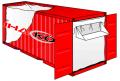Вкладыш в контейнеры полипропиленовый