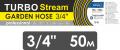 "Садовый шланг серия ""Turbo Stream Professional"" ø18 мм/ 2,5 мм (3/4"")  - 50м"