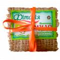 Мыло биоактивное ручной работы Фитория с фитором, глицерином и маслом виноградных косточек 130 г