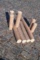 Briquettes fuel of wood sawdus
