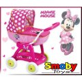 Коляска с люлькой для куклы Minnie Mouse Smoby 523133
