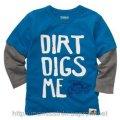 Реглан для мальчика Dirt Digs Me на 18 месяцев, 2 года