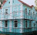 Фасадные строительные леса, пр-во ЛисМаш, г. Лисичанск, Украина