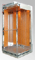 Кабины лифтов пр-ва Omsan модель СИДЕ