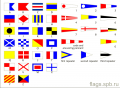 Flags are ship