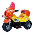 Электромотоцикл детский BT-BOC-0013 ORANGE-YELLOW оранжевый
