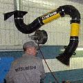 Устройство вытяжное подъёмно-поворотное тип KUA-M.