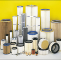 Filter elements for import industrial equipment.