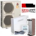 Тепловой насос Zubadan PUHZ-SHW140YHA - пакетное предложение
