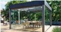Garden winter of the aluminum shape - glass uninsulated