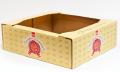 Лоток для упаковки печенья, гофролоток кондитерский