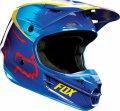 Мотошлем Fox V1 Vandal Yellow-Blue XL